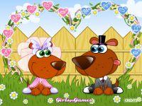 Hunde Hochzeit